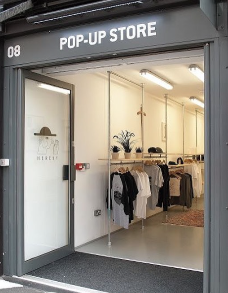 Self Storage Containers make Perfect Pop up retail solutions.